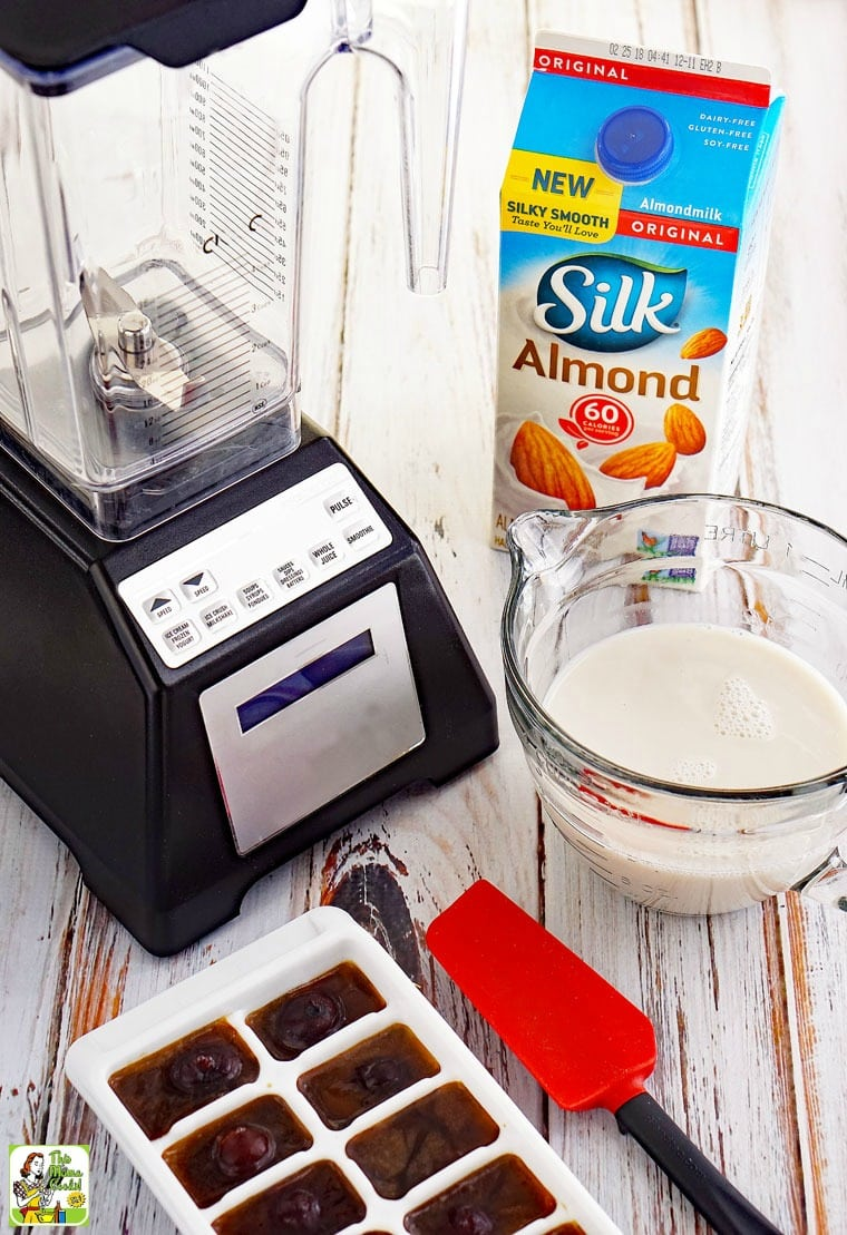 This coffee shake recipe is dairy free.