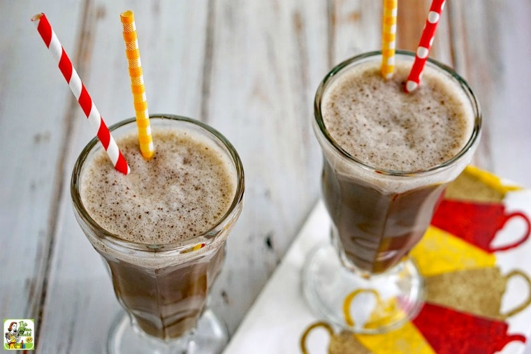 You'll crave this coffee breakfast smoothie recipe!