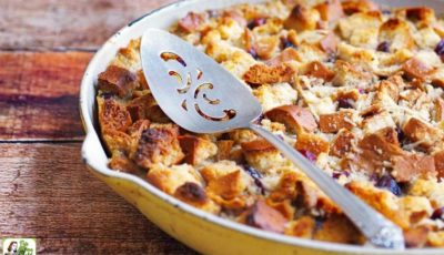 Easy Bread Pudding Recipe with Bourbon Sauce