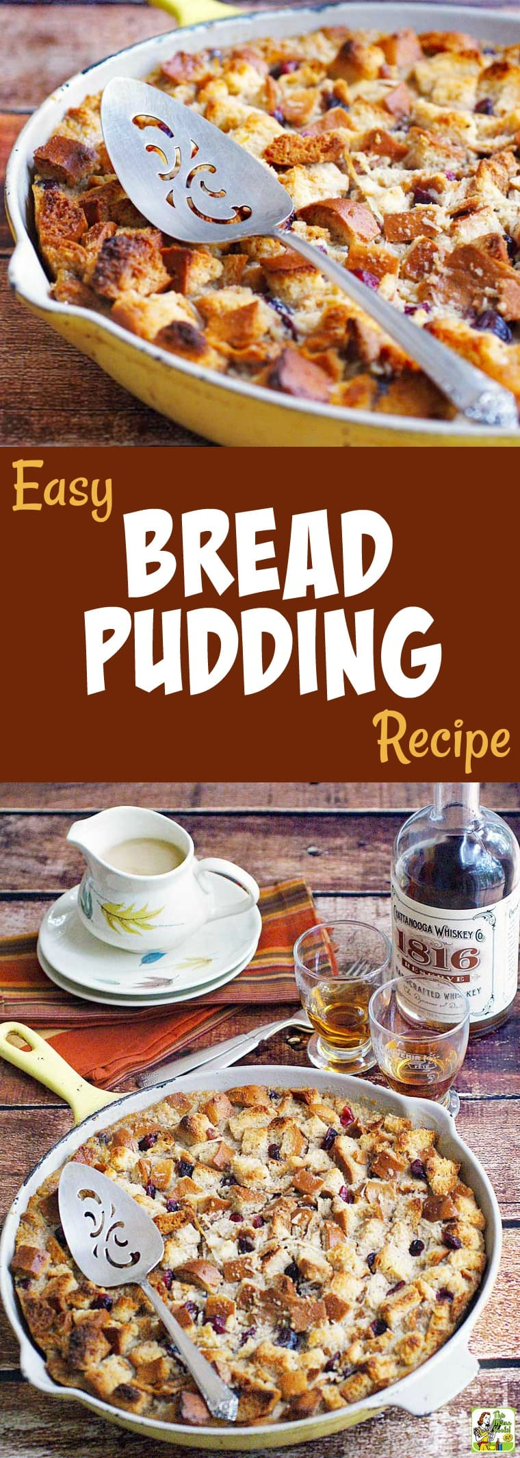 Old fashioned bread pudding with vanilla sauce 66