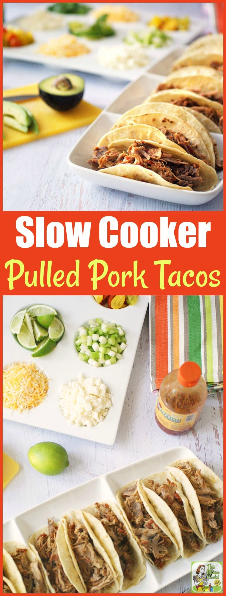 Slow Cooker Pulled Pork Tacos Recipe