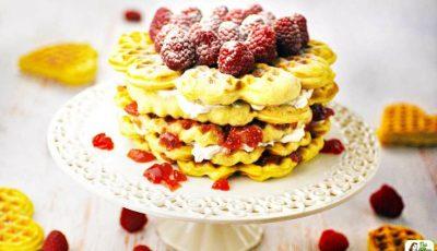 Gluten Free Waffle Cake