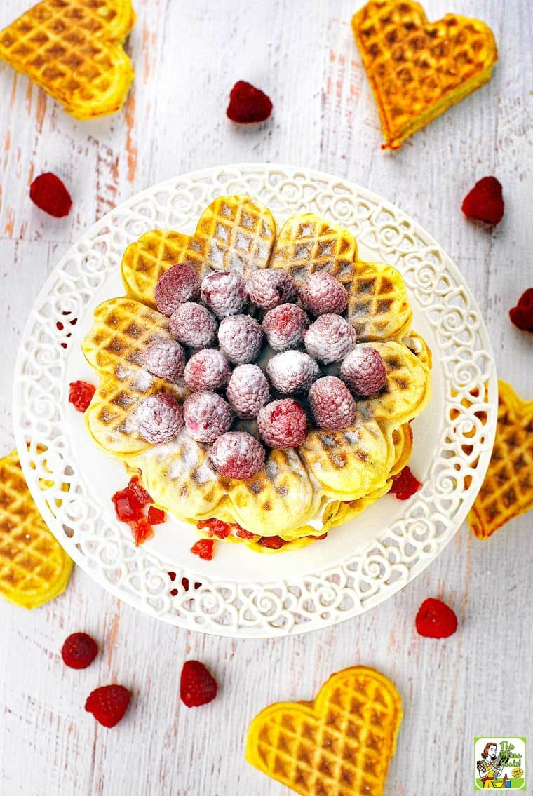 Learn how to make a waffle cake for brunch or breakfast.