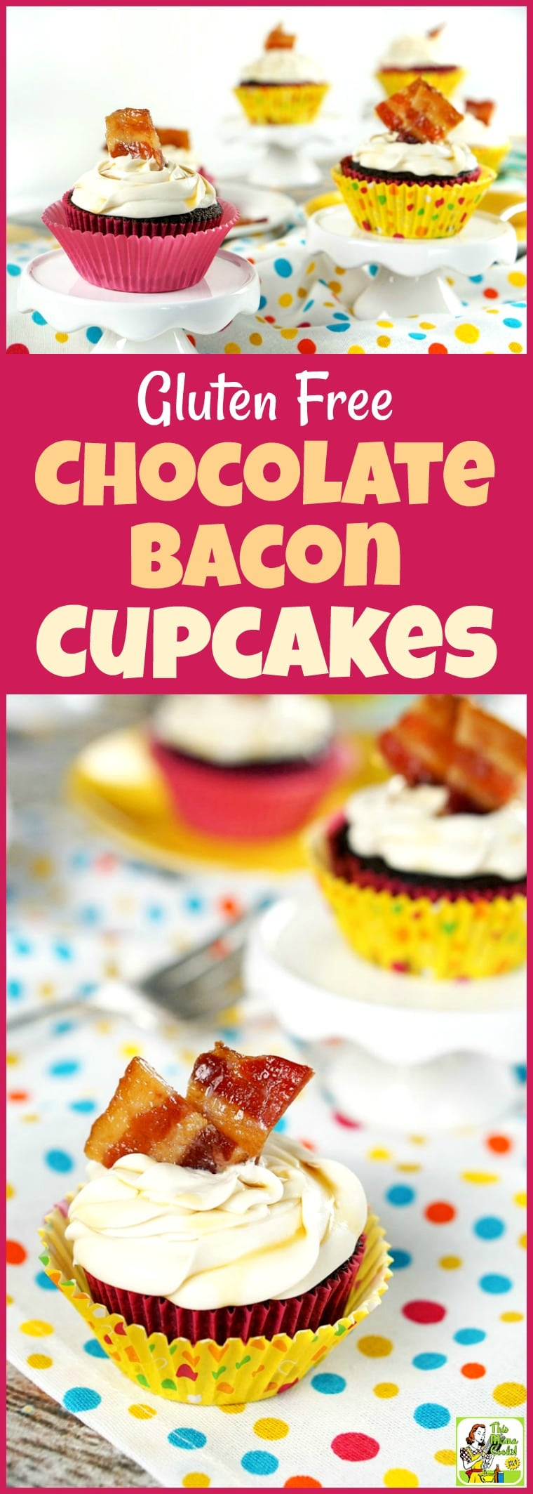 Gluten Free Chocolate Bacon Cupcakes Recipe