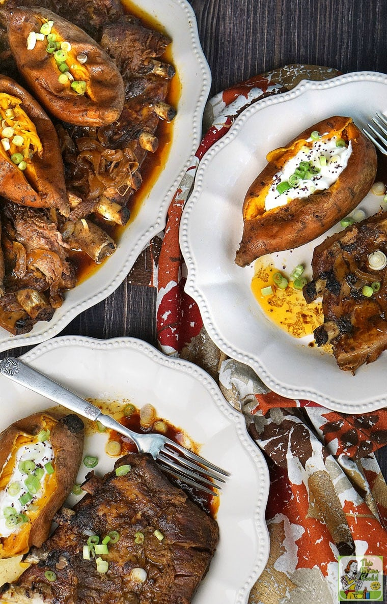 Crock-Pot Baby Back Ribs with Sweet Potatoes