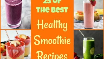 Get back into healthy eating with 25 of the Best Healthy Smoothie Recipes! #recipe #easy #recipeoftheday #healthyrecipes #glutenfree #easyrecipes #breakfast #snacks #lowcaloriesnacks #snackrecipes #smoothies #smoothiesrecipes #healthydrinks #healthydrinksrecipe #shakes #dairyfree #vegan #veganfood #veganrecipes #fruit #yogurt