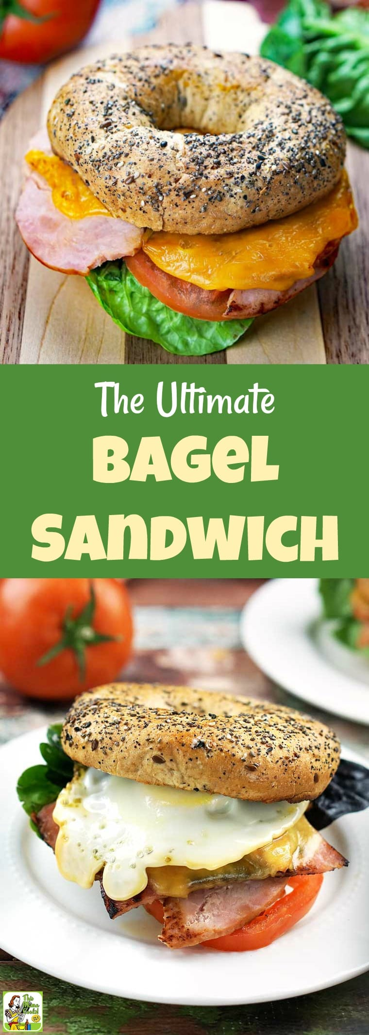 The Ultimate Bagel Sandwich