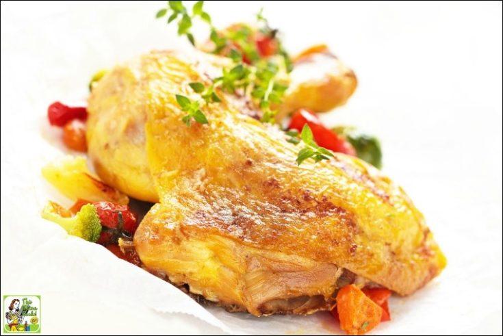 Brined & Smoked Chicken Quarters Recipe