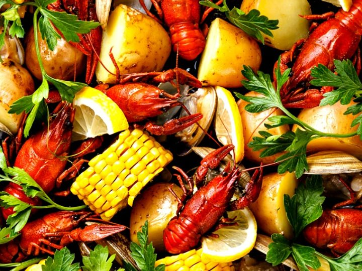 How To Throw A Cajun Seafood Boil Party This Mama Cooks On A Diet
