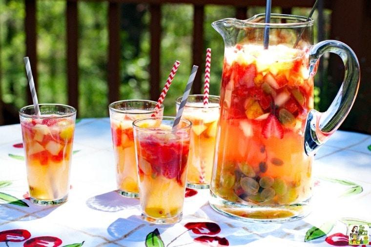 Lemonade Sangria Recipe.