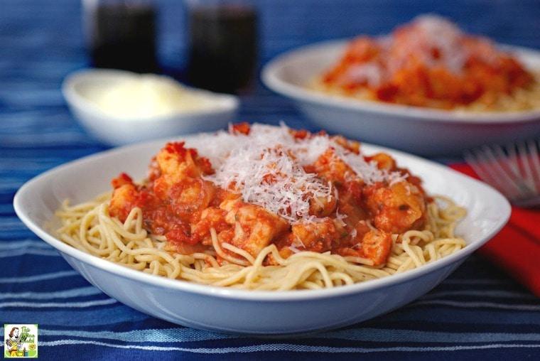 Make pasta cauliflower sauce