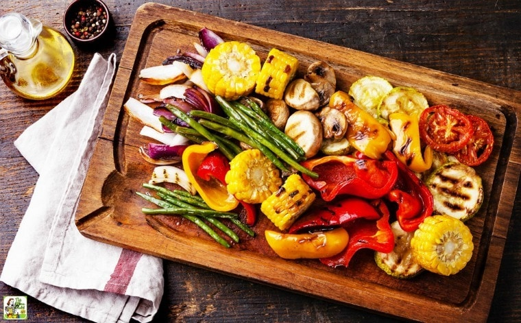 Roasted Marinated Vegetables
