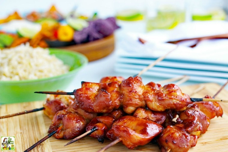 Sriracha Chicken Kabobs Recipe