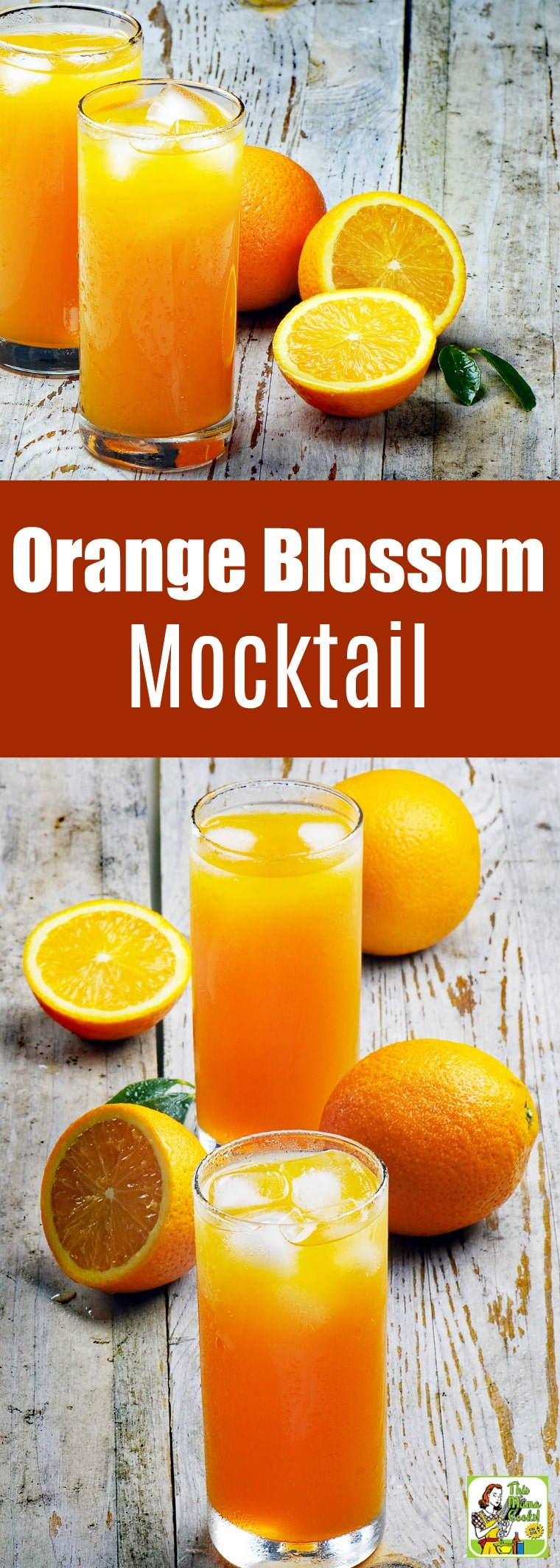 Orange Blossom Mocktail Recipe