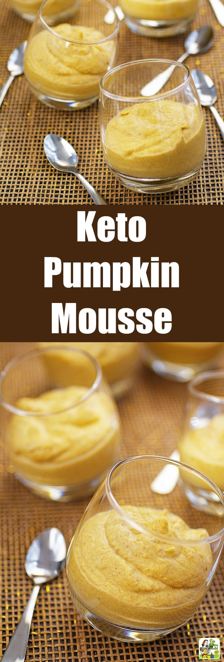 Keto Pumpkin Mousse is a four-ingredient no-bake dessert recipe. Use it to fill a pumpkin mousse pie. Everyone loves this creamy whipped pumpkin mousse dessert whether they're dairy-free, vegan, gluten-free, paleo, sugar-free, or low carb. #recipes #easy #recipeoftheday #glutenfree #easyrecipe #easyrecipes #glutenfreerecipes #snacks #desserts #dessertrecipes #pumpkindessert #pumpkinrecipe #pumpkin #pumpkinspice #halloween #thanksgiving #keto #paleo #lowcarb #sugarfree #dairyfree #nobake
