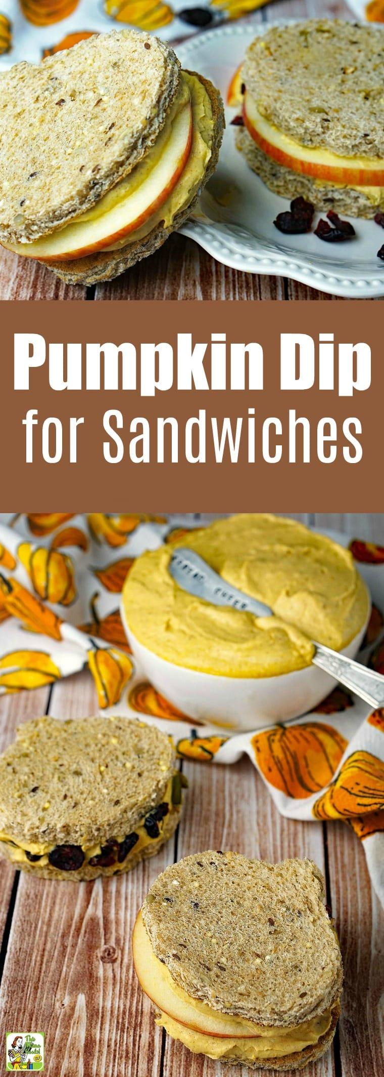 Pumpkin Dip Recipe for Sandwiches