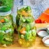Refrigerator Pickled Okra