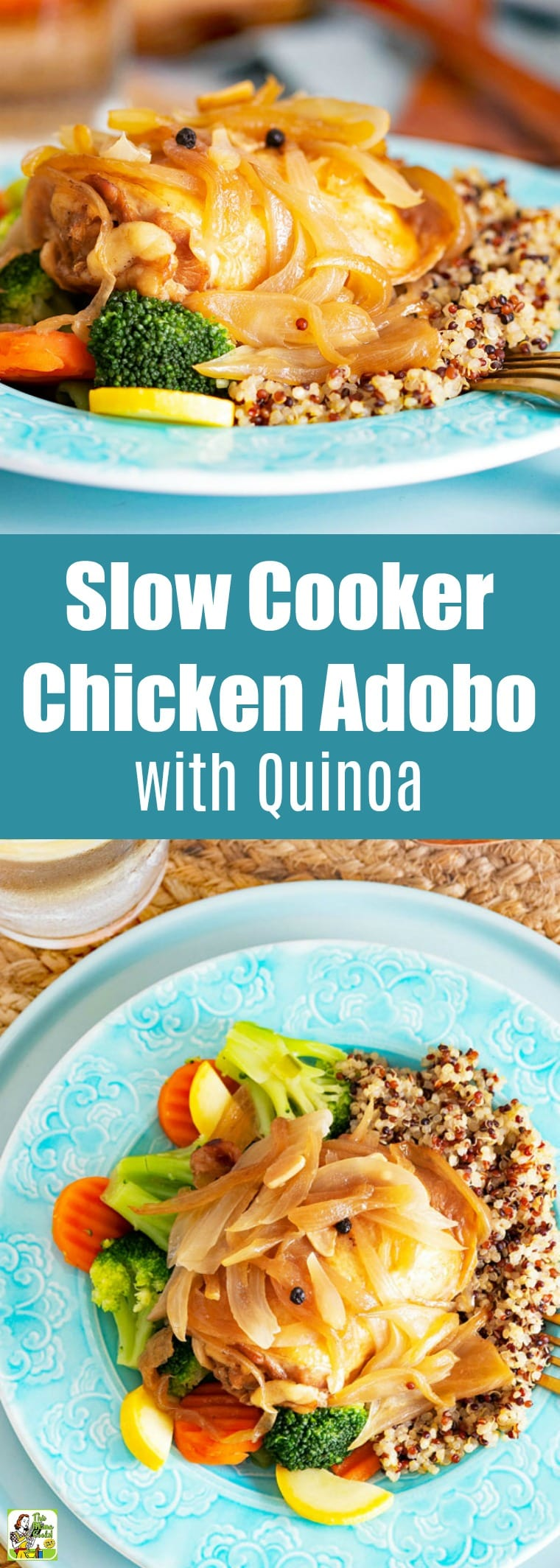 Slow Cooker Chicken Adobo with Quinoa