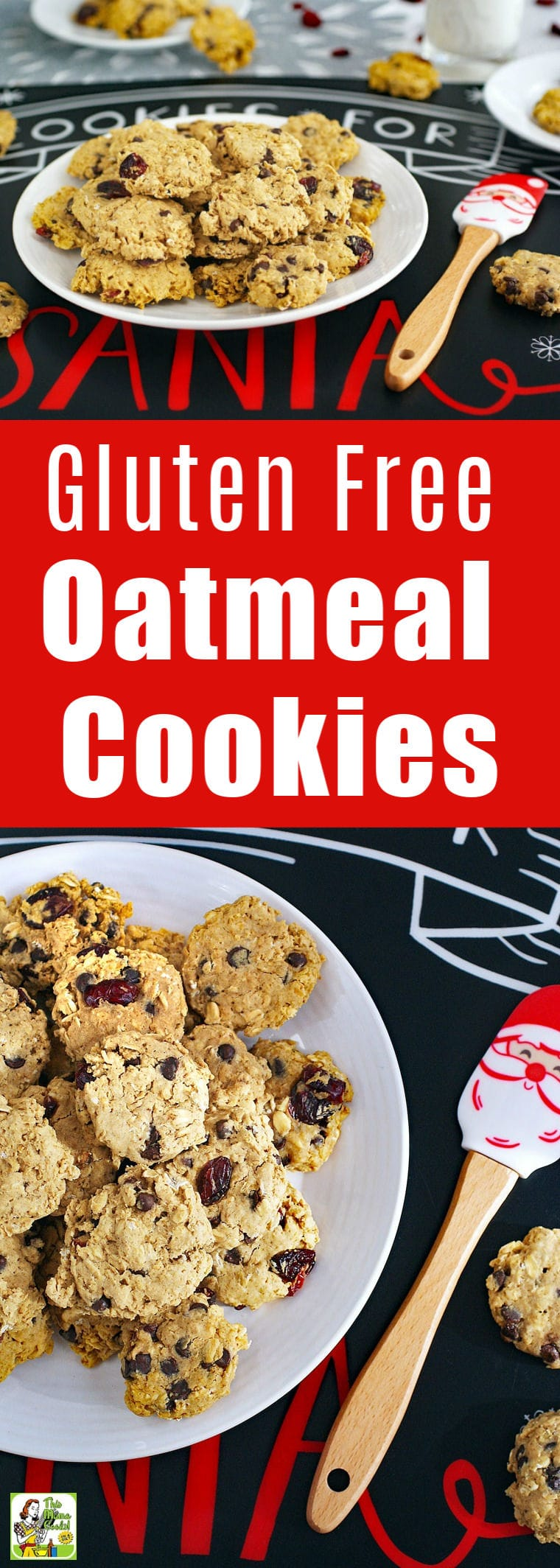Gluten Free Oatmeal Cookies for Cookie Swaps
