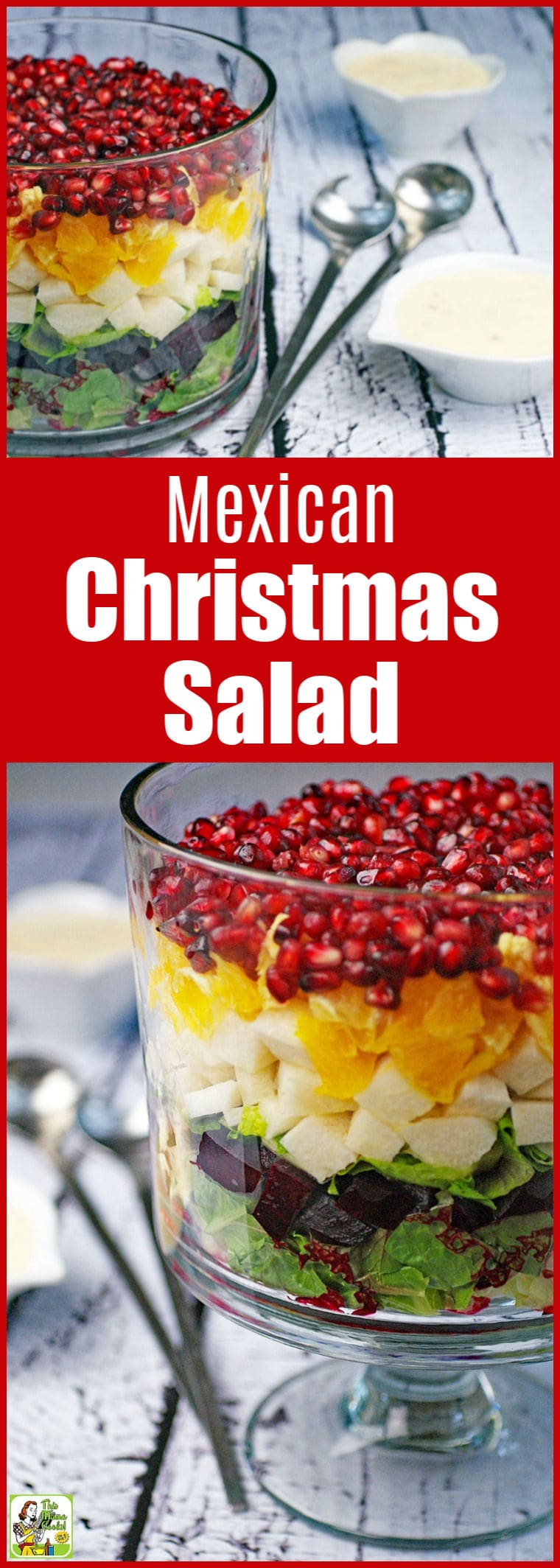 How to make a Mexican Christmas Salad Recipe