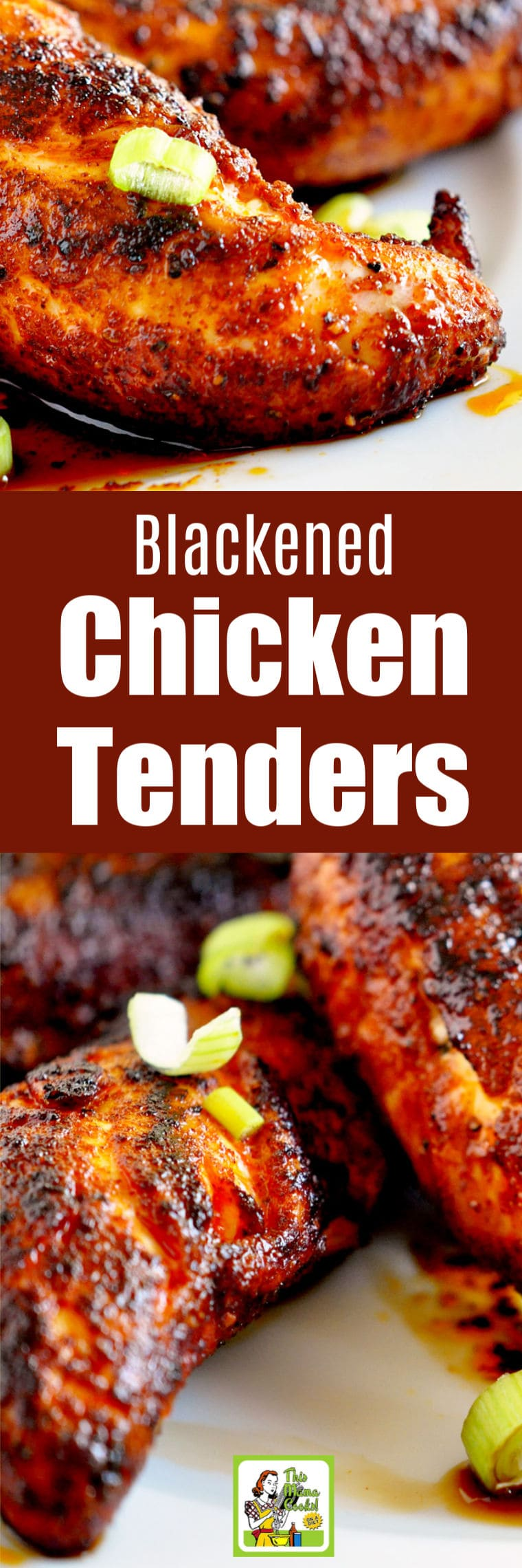 Blackened Chicken Tenders Recipe