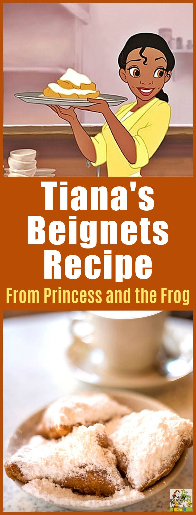Tiana\'s Famous Beignets Recipe from Princess and the Frog