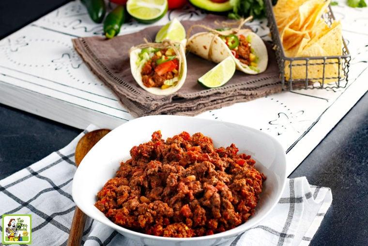 Crockpot Taco Meat