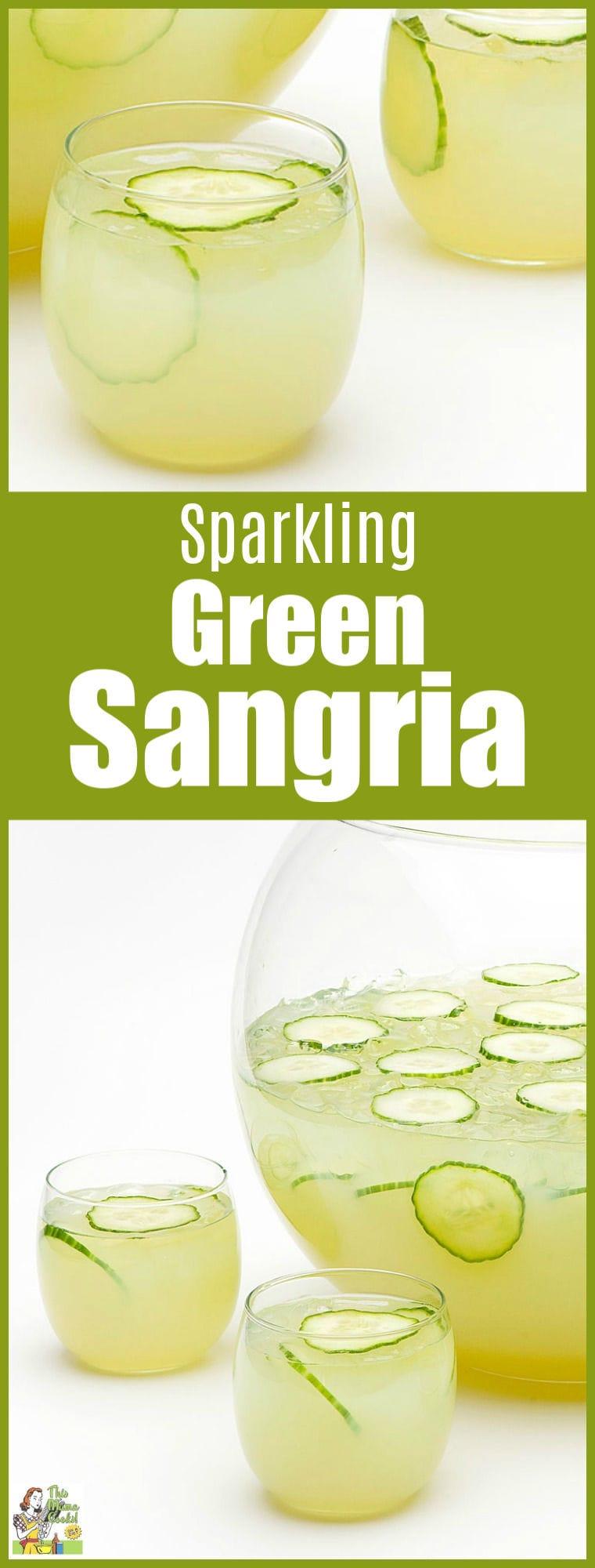 Sparkling Green Sangria Recipe