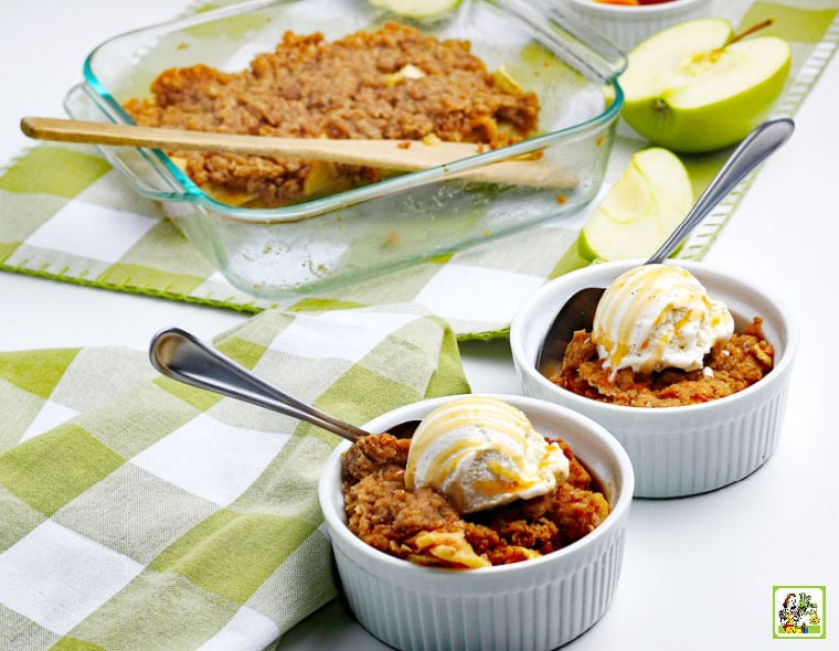 Gluten Free Apple Crisp Recipe.