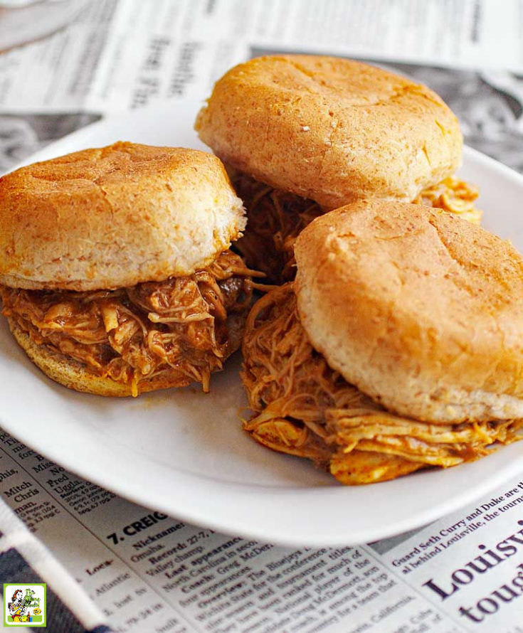 Slow Cooker Buffalo Chicken Sliders Recipe