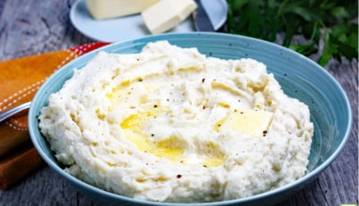 Crockpot Mashed Potatoes Recipe