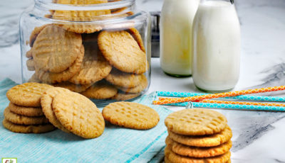 Gluten Free Peanut Butter Cookies Recipe.