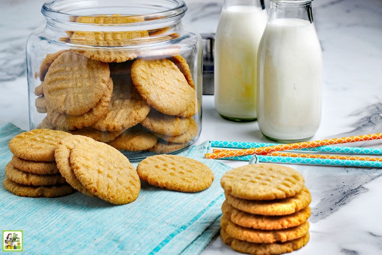 Gluten Free Peanut Butter Cookies Recipe.