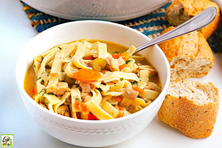 Leftover Turkey Soup Recipe.