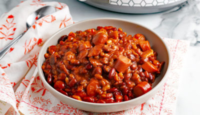 Crock-Pot Baked Beans.