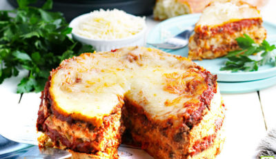 Instant Pot Lasagna Recipe.