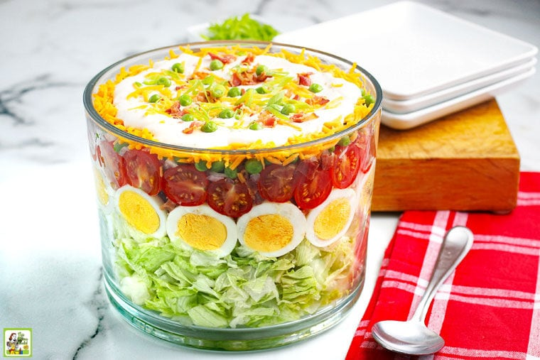 Seven Layer Salad.
