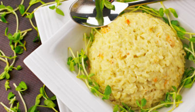 Seafood Risotto.