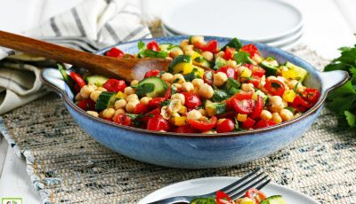 Garbanzo Bean Salad Recipe.