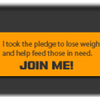 Don't forget to register your weight loss with the Pound for Pound Challenge