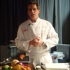 Recipes from BlogHer09: Rick Bayless makes Chamoy-Marinated Pork Tenderloin with Mango Salsa