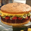 A summer splurge with Holly Clegg's Burger Cake