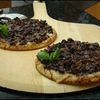 Cooking with soft spreads: Caramelized Onion & Fig Mini Pizzas