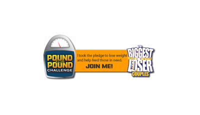 Join the Pound For Pound Challenge and help feed the hungry