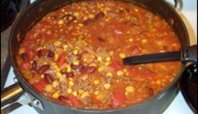 Taco soup revisited: less junk, more yummy goodness
