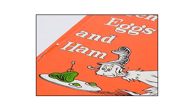 Summer reading and cooking activities with Top Chef Jody Adams' Green Eggs and Ham