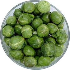 brussels sprouts fresh bowl