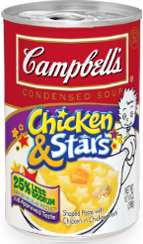 Cambell's Soup Chicken & Stars
