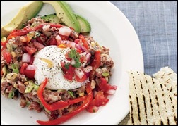 flat belly diet huevos rancheros