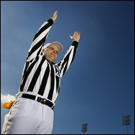 touchdown football referee